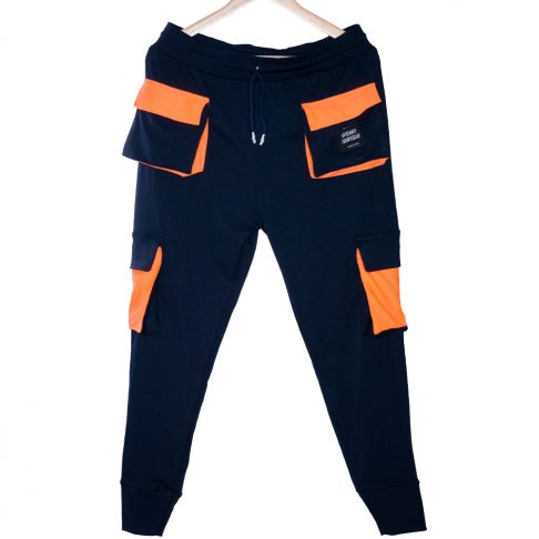 cargo jogger blue and orange, online shopping store, dri fit jogger